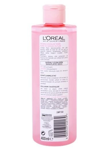L'Oréal Paris Loreal Değerli Çiçekler Tonik Kuru Ve Hassas Ciltler 400 Ml Renkli
